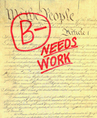 prawfsblawg the u s constitution not all that well written