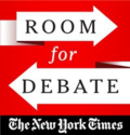 Room for debate logo