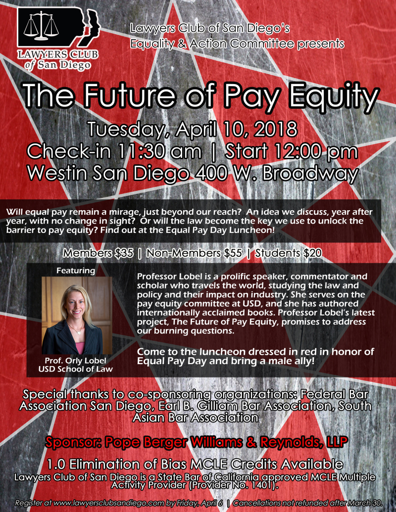 Future of pay equity flyer